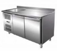 Ventilated Refrigerated GN Counter with Sink